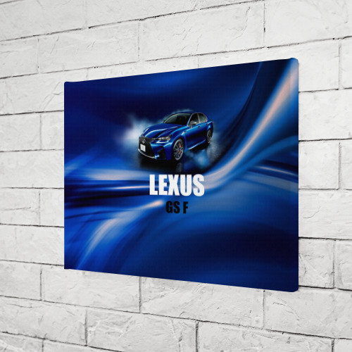 Холст прямоугольный  Фото 03, Lexus GS F