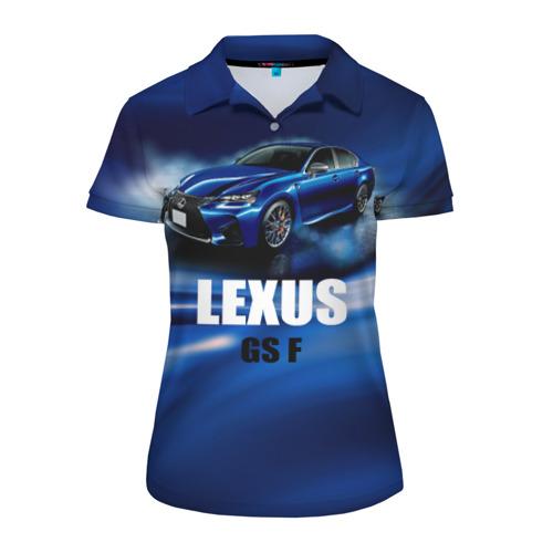 Женская рубашка поло 3D  Фото 01, Lexus GS F
