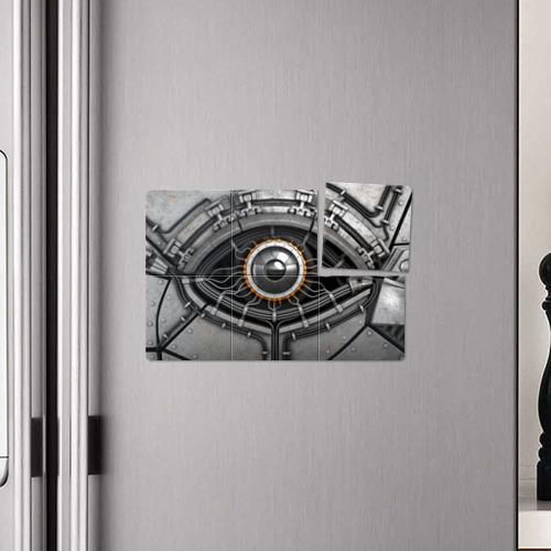 Магнитный плакат 3Х2  Фото 04, Android eye