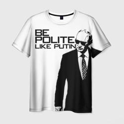 Вежливый Путин