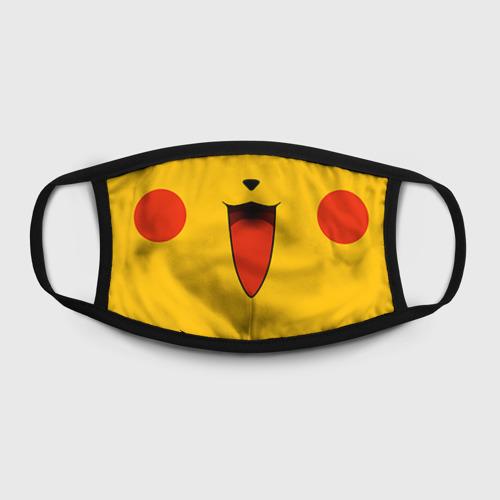Маска защитная (+5 фильтров) Pokemon Pikachu Фото 01