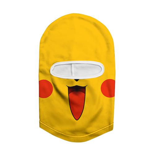 Балаклава 3D  Фото 02, Pokemon Pikachu