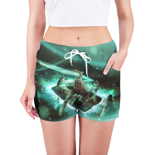 Женские шорты 3D  Фото 03, The Witcher