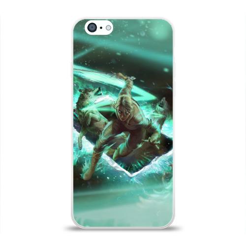 Чехол для Apple iPhone 6 силиконовый глянцевый  Фото 01, The Witcher