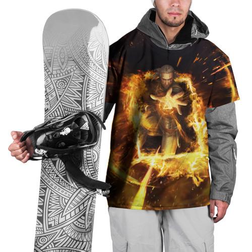 Накидка на куртку 3D The Witcher Фото 01