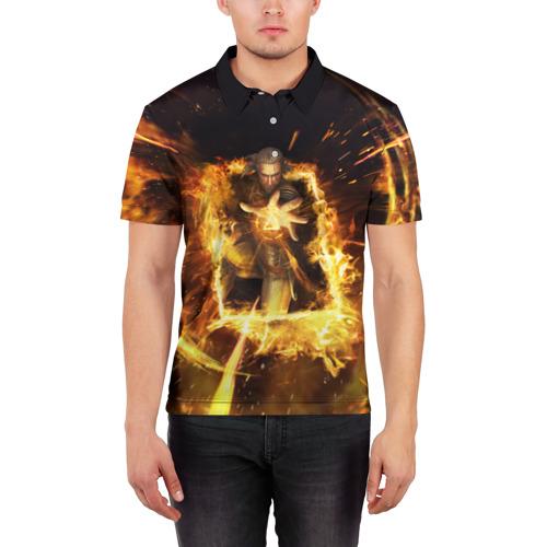 Мужская рубашка поло 3D The Witcher Фото 01