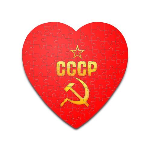 Пазл сердце 75 элементов  Фото 01, СССР