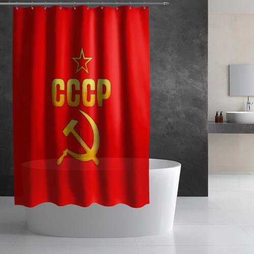 Штора 3D для ванной  Фото 03, СССР