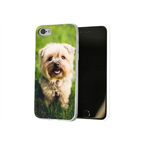 Чехол для Apple iPhone 8 силиконовый глянцевый  Фото 02, Йорк
