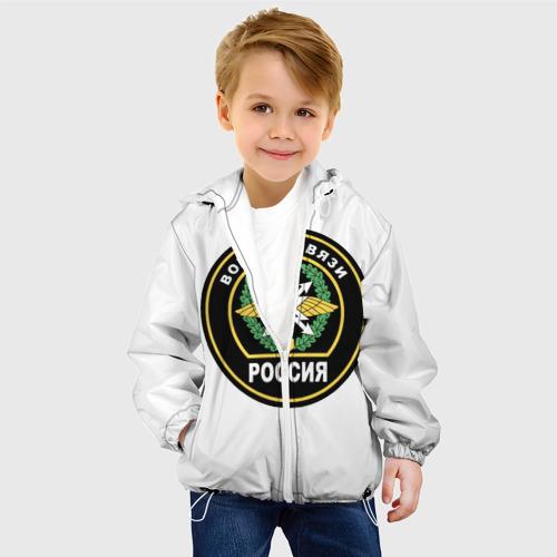 Детская куртка 3D  Фото 03, Войска связи