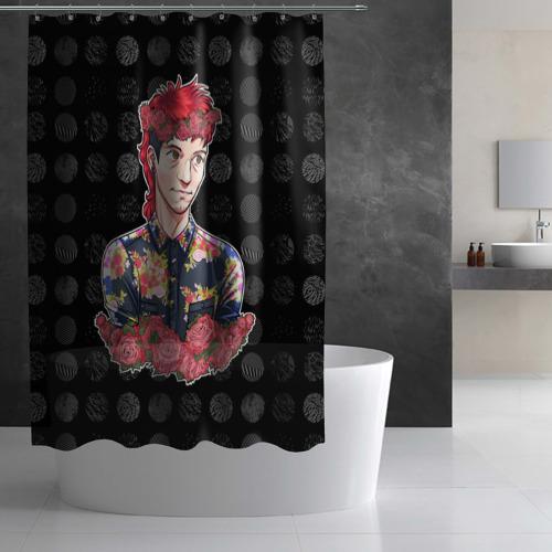 Штора 3D для ванной  Фото 02, Twenty One Pilot