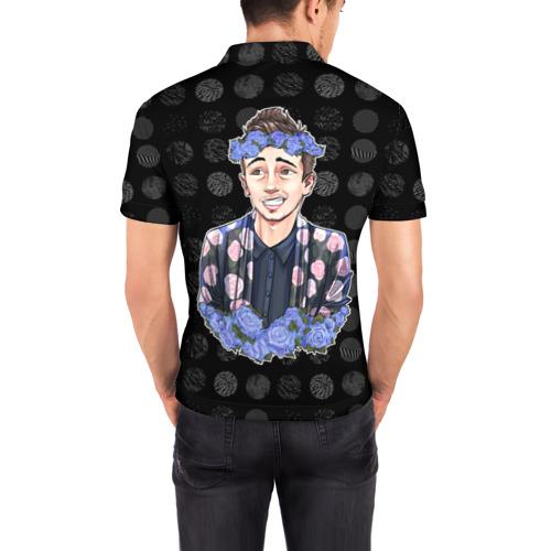 Мужская рубашка поло 3D  Фото 04, Twenty One Pilot