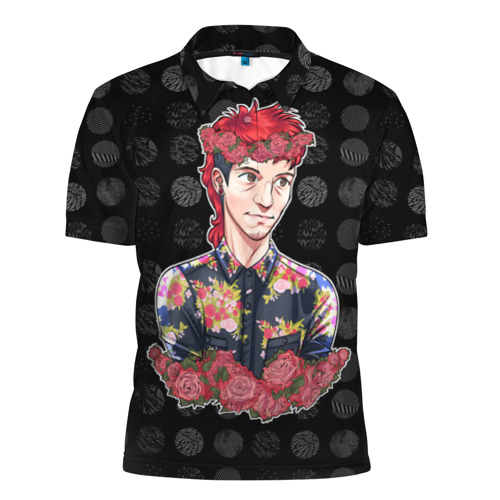 Мужская рубашка поло 3D  Фото 01, Twenty One Pilot