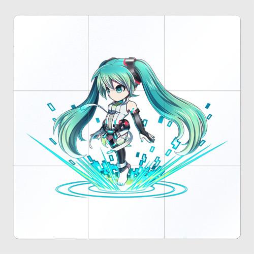 Магнитный плакат 3Х3 Хацуне Мику взрыв звука