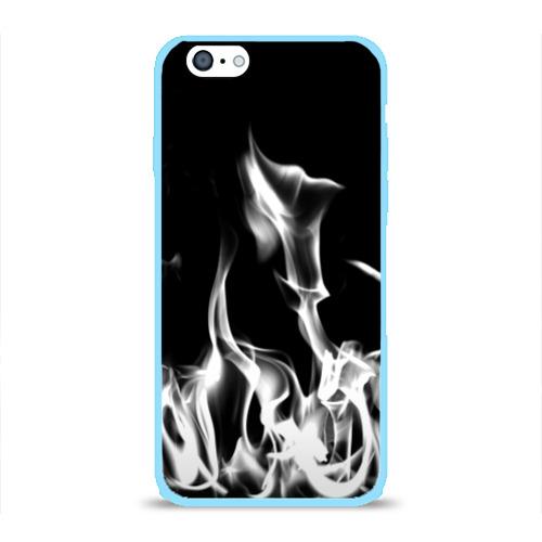 Чехол для iPhone 6/6S глянцевый Огонь Фото 01