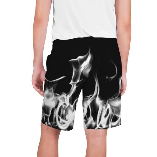Мужские шорты 3D  Фото 02, Огонь