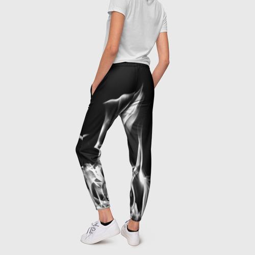 Женские брюки 3D Огонь Фото 01