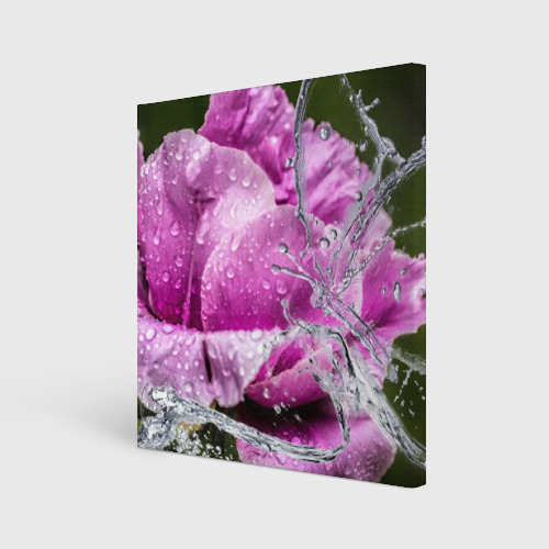 Холст квадратный  Фото 01, Душа цветов