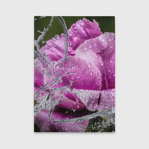 Обложка для автодокументов  Фото 02, Душа цветов