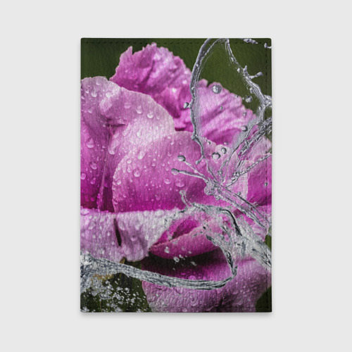 Обложка для автодокументов  Фото 01, Душа цветов