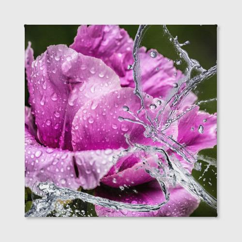 Холст квадратный  Фото 02, Душа цветов