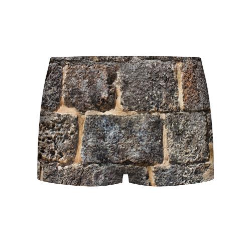 Мужские трусы 3D  Фото 01, Старый замок
