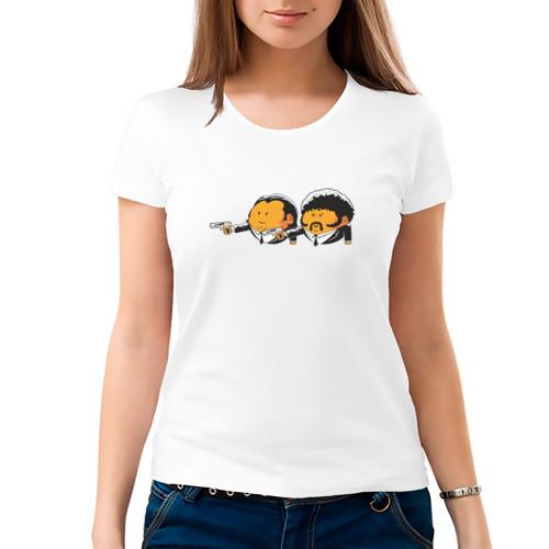 Женская футболка хлопок  Фото 03, Криминальное чтиво