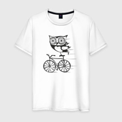 Сова на велосипеде