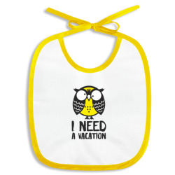 Owl. I need a vacation
