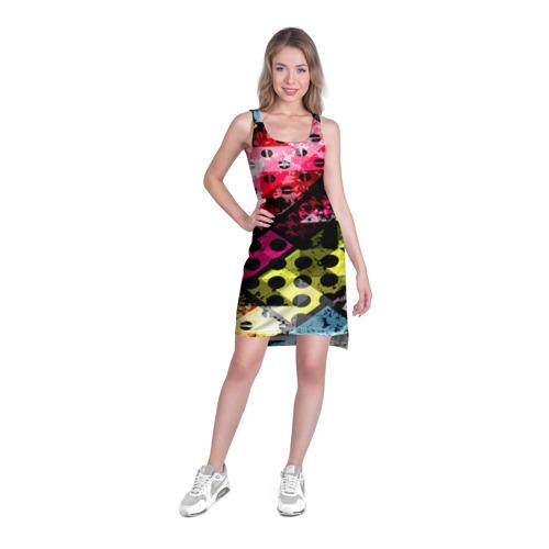 Платье-майка 3D  Фото 03, Art