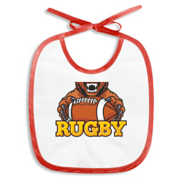 Rugby. Bear.