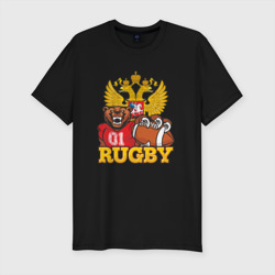 Rugby. Russia. Bear.