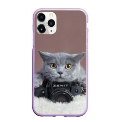 Котик фотограф