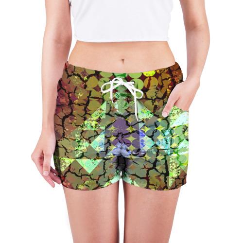 Женские шорты 3D  Фото 03, Мозаика