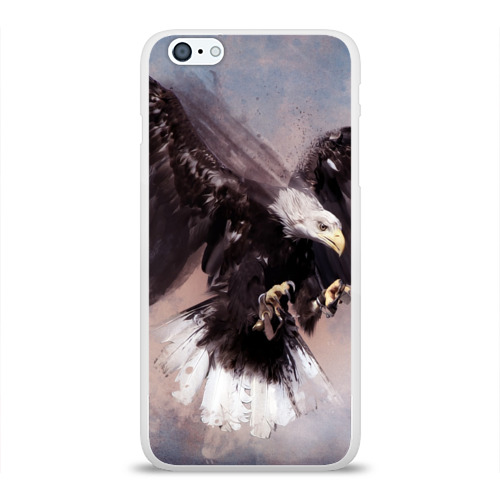 Чехол для Apple iPhone 6Plus/6SPlus силиконовый глянцевый  Фото 01, Eagle