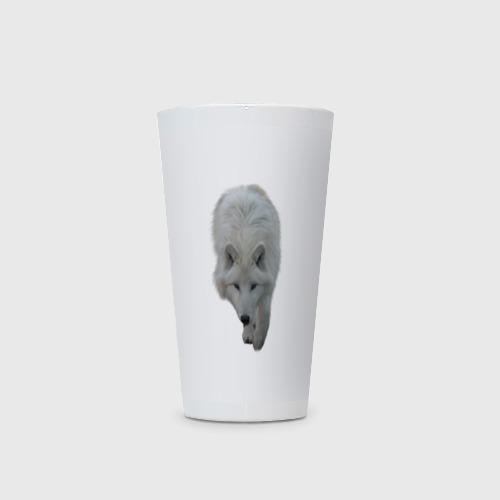 Кружка Латте  Фото 03, Белый волк