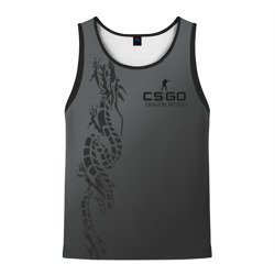 cs:go - Dragon tattoo,glock-18 style (Татуировка дракона)