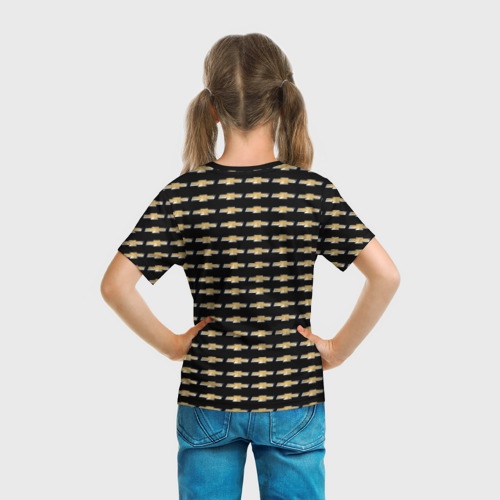Детская футболка 3D  Фото 04, Шевроле