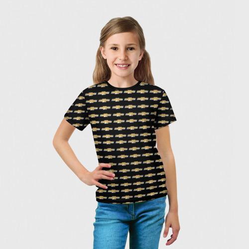 Детская футболка 3D  Фото 03, Шевроле