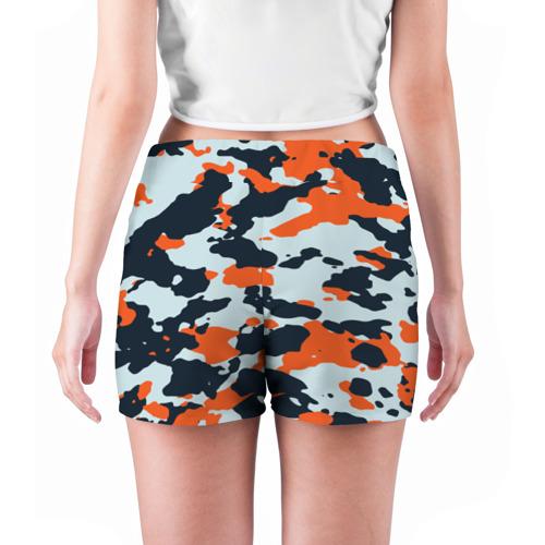 Женские шорты 3D  Фото 04, Asiimov camouflage