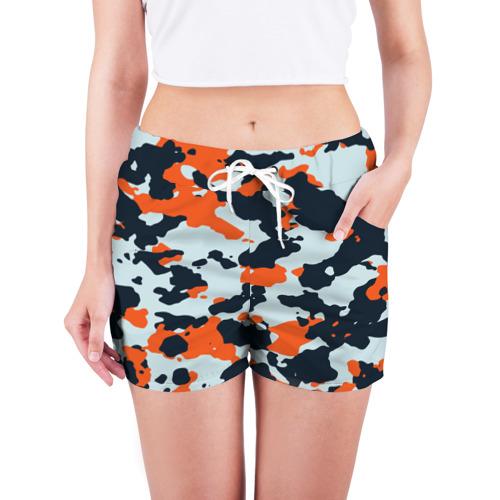 Женские шорты 3D  Фото 03, Asiimov camouflage