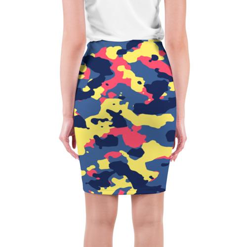 Юбка 3D  Фото 02, Разноцветный камуфляж