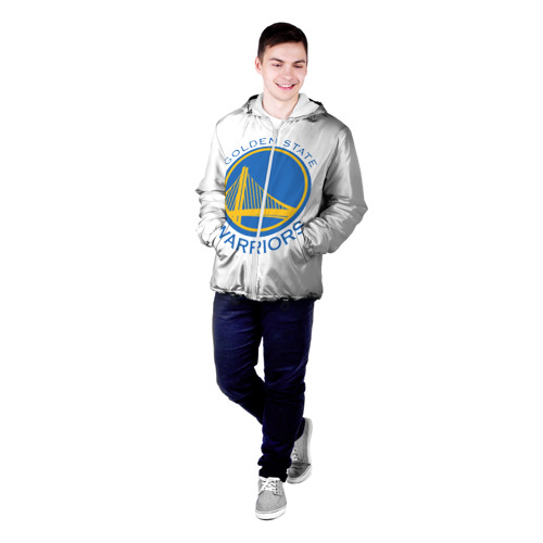 Мужская куртка 3D  Фото 03, Golden State Warriors