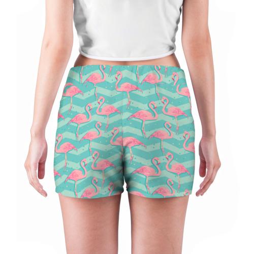 Женские шорты 3D  Фото 04, flamingo