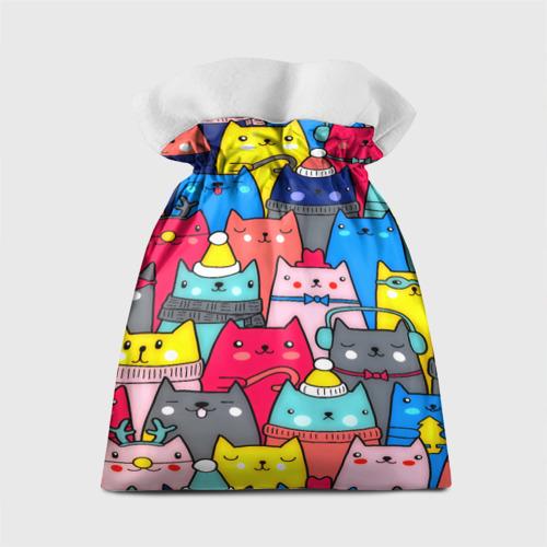 Подарочный 3D мешок  Фото 02, Котики