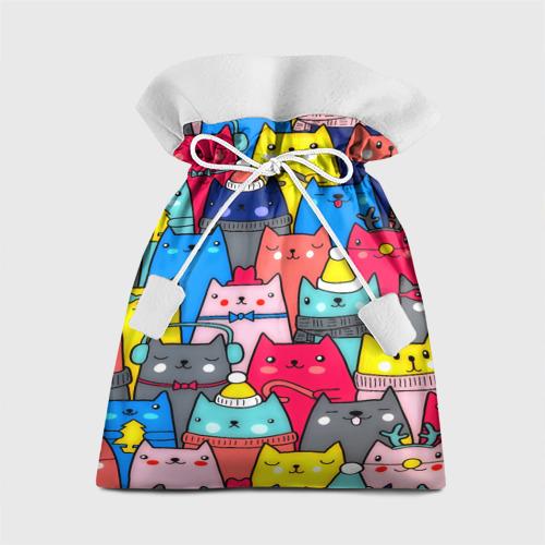 Подарочный 3D мешок  Фото 01, Котики