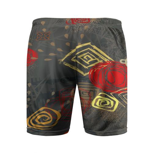 Мужские шорты 3D спортивные  Фото 02, Абстракция