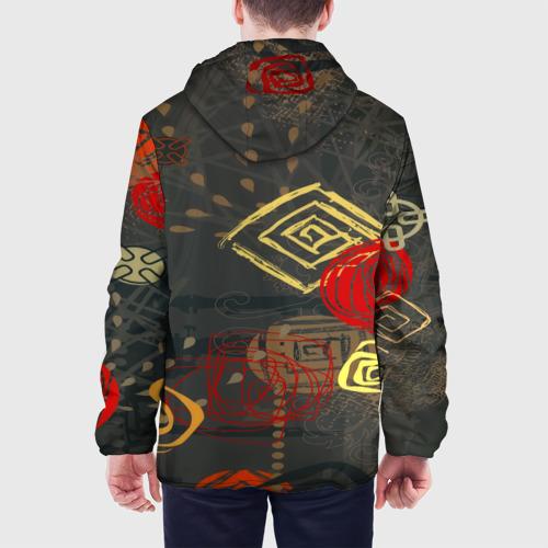 Мужская куртка 3D  Фото 05, Абстракция