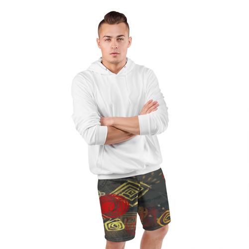 Мужские шорты 3D спортивные  Фото 05, Абстракция