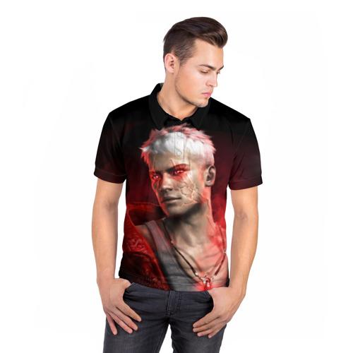 Мужская рубашка поло 3D  Фото 05, Young Devil